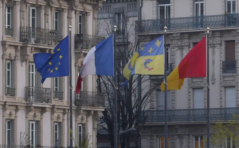 Flags of Grenoble